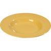 Carlisle Sierrus Melamine Chef Salad Pasta Bowl 20 oz - Honey Yellow CFS 3303022CS