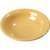 Carlisle Sierrus Melamine Rimmed Bowl 16 oz - Honey Yellow CFS 3303222CS