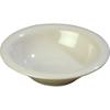 Carlisle Sierrus Melamine Rimmed Bowl 12 oz - Bone CFS 3303642CS