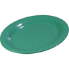 "Sierrus Melamine Oval Platter Tray 9.5"" x 7.25"" - Meadow Green"