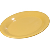 "Sierrus Melamine Oval Platter Tray 9.5"" x 7.25"" - Honey Yellow"