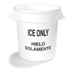 Carlisle Ice Only Round Container CFS 341010ICE02CS