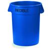 trash receptacle: Carlisle - Bronco™ Round Trash Cans - Inedible - 32 Gallon Capacity
