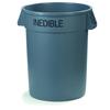 Carlisle Bronco™ Round Trash Cans - Inedible - 32 Gallon Capacity CFS 341032INE23CS