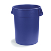 trash receptacle: Carlisle - Bronco™ Round Trash Cans