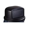Carlisle 32 Gal Bronco Dome Lid - Black CFS 34103403EA