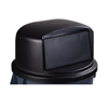 Carlisle 44-55 Gal Bronco Dome Lid - Black CFS 34105703EA