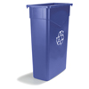 waste basket: Carlisle - TrimLine™ Recycling Container 15 Gallon