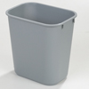 waste basket: Carlisle - Wastebasket 28 Qt - Grey