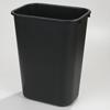 waste basket: Carlisle - Wastebasket 41-1/4 qt - Black