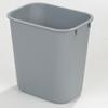 waste basket: Carlisle - Wastebasket 41-1/4 qt - Grey