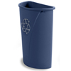 recycling container: Carlisle - Centurian™ Half Round Recycling Container 21 Gallon