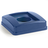 Carlisle 23 Gal Centurian™Can Recycle Lid - Blue CFS 343527REC14CS