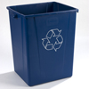 Carlisle Centurian™ Waste Container 50 Gallon CFS 343950REC14CS