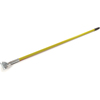 "Carlisle Fiberglass Dust Mop Handle with Clip-On Connector 60"" - Yellow CFS 36211304CS"