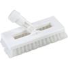 "floor brush: Carlisle - Swivel Scrub® w/Polyester Bristles 8"" - White"