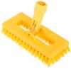 "Carlisle Swivel Scrub® w/Polyester Bristles 8"" - Yellow CFS 3638831C04CS"