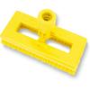 Carlisle Swivel Scrub w/Polyester Bristles - Yellow CFS 3638831EC04CS