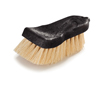 cleaning chemicals, brushes, hand wipers, sponges, squeegees: Carlisle - Flo-Pac® Curved Back Utility Hand Scrub with Tampico Bristles
