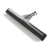cleaning chemicals, brushes, hand wipers, sponges, squeegees: Carlisle - Flo-Pac® Soft Black Heavy Duty Foam Rubber Squeegee