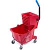 Carlisle 26 Qt Mop Bucket/Wringer Combo - Red CFS 3690805EA