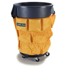 Janitorial Carts, Trucks, and Utility Carts: Carlisle - Tool Caddy Bag for 32 & 44 Gal Bronco Waste Containers