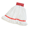 Carlisle Loop End Microfiber Mop 20 - Red CFS 36942002CS