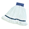 Carlisle Loop End Microfiber Mop 20 - Blue CFS 36942014CS