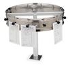 """Carlisle 12 Clip Counter Mt. Order Wheel 14"""" - Stainless Steel CFS 3812CMCS"""