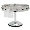 "Carlisle 16 Clip Portable Order Wheel 18"" - Stainless Steel CFS 3816MPCS"