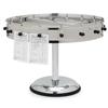 "Carlisle 20 Clip Portable Order Wheel 23"" - Stainless Steel CFS 3820MPCS"