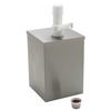 Carlisle High Volume Condiment Pump with Fixed Nozzle Pump 7-1/4 CFS 38601CS