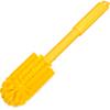"""brushes: Carlisle - Sparta® Multi-Purpose Valve  Fitting Brush 16"""" Long/ 3"""" D - Yellow"""