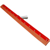Squeegees: Carlisle - Straight Steel/Red Gum Rubber