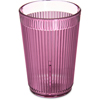 Carlisle Crystalon® Stack-All® SAN Tumbler 8.3 oz - Rose CFS 400855CS