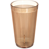 Carlisle Crystalon® Stack-All® SAN Tumbler 12.3 oz - Amber CFS 401213CS