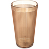 Carlisle Crystalon® Stack-All® SAN Tumbler 16.2 oz - Amber CFS 401613CS