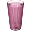 Carlisle Crystalon® Stack-All® SAN Tumbler 20.7 oz - Rose CFS 402055CS