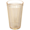 Carlisle Crystalon® RimGlow Tumbler 12 oz - Glo-Honey Yellow CFS 403322CS