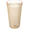 Carlisle Crystalon® RimGlow Tumbler 16 oz - Glo-Honey Yellow CFS 403422CS