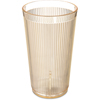Carlisle Crystalon® RimGlow Tumbler 20 oz - Glo-Honey Yellow CFS 403522CS