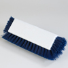 "Carlisle Sparta® Dual Surface Polypropylene Floor Scrub With Side Bristles 12"" - Blue CFS 4042214CS"