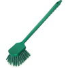 cleaning chemicals, brushes, hand wipers, sponges, squeegees: Carlisle - Sparta® Spectrum® Utility Scrub Brush with Polyester Fill