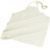 workwear: Carlisle - Wrap Around Nitrile Apron (for heavy-duty protection) - White