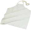 Carlisle Wrap Around White Nitrile Apron CFS 4069100CS