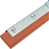 Squeegees: Carlisle - Professional Double-Blade Rubber Zinc Plated Steel Handle 12""