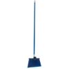 Carlisle Sparta® Spectrum® Duo-Sweep® Angle Broom Flagged Bristle 56 Long - Blue CFS 41082KIT14CS