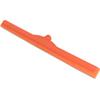 """Carlisle Sparta® Double Foam Squeegee 24"""" - Orange CFS 4156824CS"""