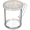 Carlisle Shaker/Dredge With Parsley Lid 1 cup / 8 oz. - Translucent CFS 423030CS