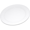 "Carlisle Durus® Melamine Dinner Plate Narrow Rim 10.5"" - White CFS 4300202CS"